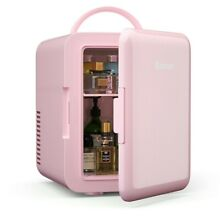 New Compact 4L Mini Fridge Cooler Makeup or Food Cool or Warm   Multifunctional