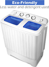 Compact Small Laundry Washing Washer Machine Dryer Lightweight RV Apartments NEW