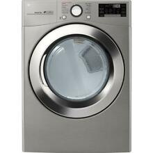 Brand New LG 7 4 cu  ft  Smart Stackable Front Load Electric Dryer w TurboSteam