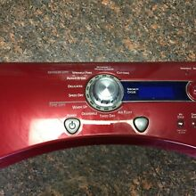 GE Profile Dryer Control Panel We19M1582 with User Interface We4M469