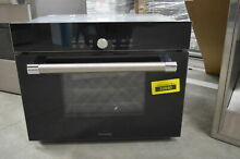 Thermador MES301HP 24  Black Microwave Steam Convection Wall Oven NOB  31874 MAD
