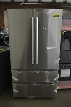 Midea MRQ23B4AST 36  Stainless French Door Refrigerator NOB  93723 HRT
