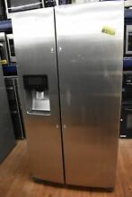 Samsung RS25H5111SR 36  Stainless Side By Side Refrigerator NOB  51373 HRT