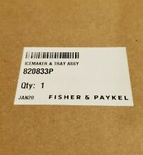 820833P Fisher Paykel Refrigerator Icemaker and Tray Assembly