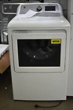 GE GTD84ECSNWS 27  White Front Load Electric Dryer   102262