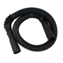 Washing Machine Drain Hose  Semi rigid Sections Allow Hose to Bend  4 feet coll