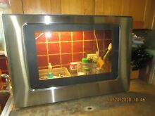 Whirlpool Electric Range Stainless Outer Oven Door Glass WPW10330077