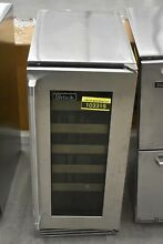 Perlick HP15WS33R 15  Stainless Under Counter 20 Bottle Wine Cooler NOB  103319