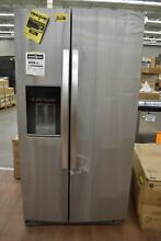 Whirlpool WRS571CIHZ 36  Stainless Side by Side Refrigerator NOB  35882