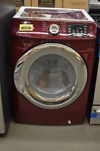 Samsung DVG45N5300F 27  Red Merlot Front Load Gas Dryer NOB  33268