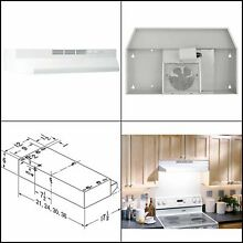 Broan NuTone 412101 Ductless Range Hood Insert with Light