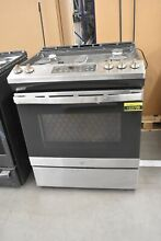 GE JGSS66SELSS 30  Stainless Slide In Gas Range  103708