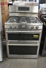 GE Cafe CGB550P2MS1 30  Stainless Freestanding 5 Burner Gas Range  92628