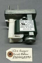 Ice Auger Drive Motor  5304462594  Frigidaire  Kenmore