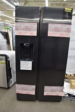 Samsung RS27T5200SG 36  Black Stainless Side By Side Refrigerator NOB  104333