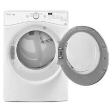 Whirlpool Front Load Electric Dryer with 7 3 Cu  Ft Capacity White  27 Inches