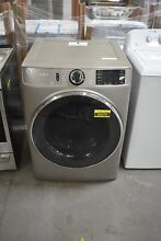 GE GFD65ESPNSN 28  Satin Nickel Front Load Electric Dryer  84979 HRT