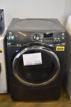 GE GFD45GSPMDG 27  Diamond Gray Front Load Natural Gas Dryer NOB  41436