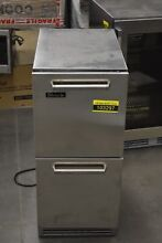 Perlick HP15RO 3 5 15  Stainless Under Counter Refrigerator NOB  103297