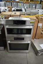 Bosch HBL8752UC 30  Stainless Steel Microwave Oven Combo Wall Oven  107268