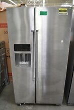 KitchenAid KRSF505ESS 36  Stainless Side By Side Refrigerator NOB  108420