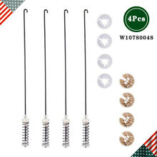 W10780048 Washer Suspension Rod Kit Damper Assembly for Whirlpool Kenmore   4Pcs