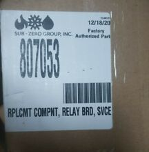 NEW RELAY BOARD FOR L SERIES WOLF 30 36 WALL OVENS 807053