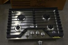 Whirlpool WCG55US0HS 30  Stainless Natural Gas Cooktop NOB  103190