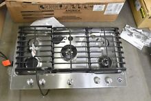KitchenAid KCGS956ESS 36  Stainless Steel Natural Gas Cooktop NOB  111073
