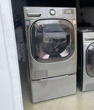 LG Washer and Pedestals