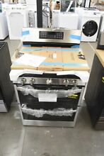 GE JGBS86SPSS 30  Stainless Freestanding Double Oven Gas Range NOB  111875