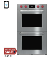 Wolf DO30PMSPH M Series 30 Inch Smart 10 2 cu  ft  Total Capacity Electric Doub