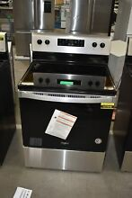 Whirlpool WFE505W0JS 30  Stainless Freestanding Electric Range NOB  108444