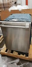 Thermador DWHD770WFP 24  Stainless Steel Fully Integrated Dishwasher