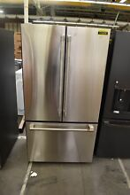 GE Cafe CWE23SP2MS1 36  Stainless Steel CD French Door Refrigerator NOB  113479