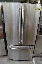 GE Cafe  CWE19SP2NS1 33  Stainless Steel CD French Door Refrigerator NOB  113484
