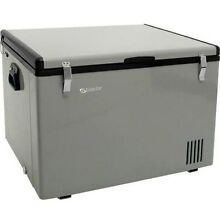 63 Qt  Portable Chest Fridge   Freezer  Compact 12 Volt Outdoor RV Electric Cool