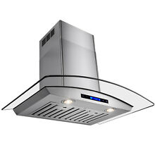 Kitchen 36  Wall Mount kitchen Stainless Steel Range Hood Stove Vents w Remote