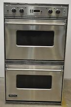 Viking Vedo205ss 30 Stainless Double Electric Wall Oven In