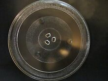 Glass Microwave Turntable Plate 12 3 8  For 9 3 4  Inside track