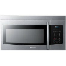 Samsung 1 6 cu ft  1000 Watts Over The Range Microwave Oven with 10 Power Level