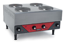 Nemco 6311 2 240 Raised Four Burner Electric Range   Hot Plate   240v 1ph