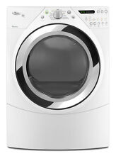 Whirlpool WED9750WW 27  White Front Load Electric Dryer NIB  9292