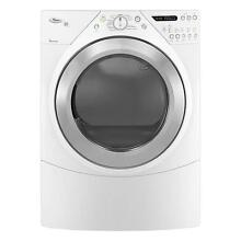 Whirlpool WED9550WW 27  White Front Load Electric Steam Dryer NIB  9301