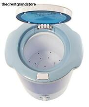 Mini Portable Countertop Spin Dryer Hookup Motor Bottom Unit Rpm Cycle Light