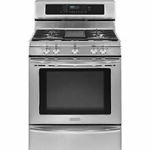 KitchenAid KGRS308XSS 30  Stainless Freestanding Gas Range Convection NIB  11188