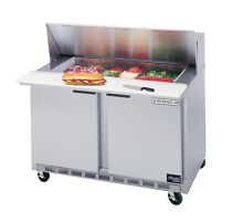Beverage Air 36  Cutting Top Refrigerated Sandwich Prep Table w  12 Pans