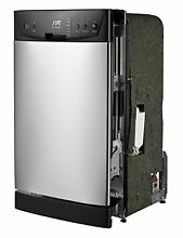 SPT SD 9252SS Energy Star 18 quot  Built In Dishwasher  Stainless Steel