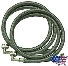 Eastman 48377 Washing Machine Hose with 90 Degree Elbow  1 Pair  New  Free Ship