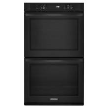 KitchenAid KEBS209BBL 30  Black Built In Wall Oven w Even Heat NIB  13366